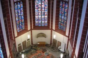 Inventarisierungsobjekte im Westchor der Katharinenkirche Oppenheim
