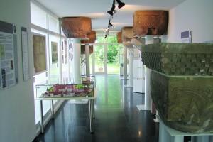 Ausstellungsraum nach Durchführung der Neukonzeption